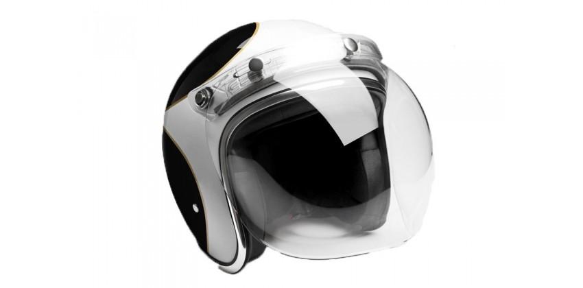 Bubble Shield Clear Aksesoris Helm Visor  Clear 0