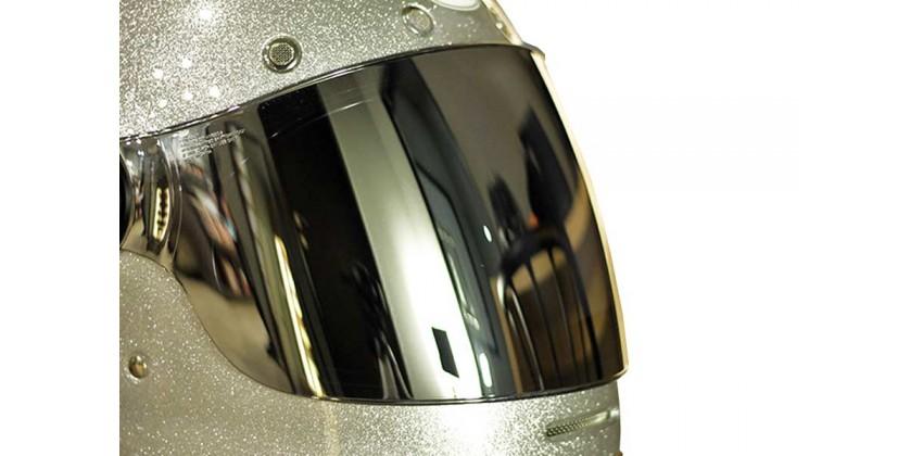 Bullitt Aksesoris Helm Visor Flat Silver Iridium 0