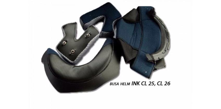 CL 25, CL 26 Aksesoris Helm Crown Pad  Hitam 0