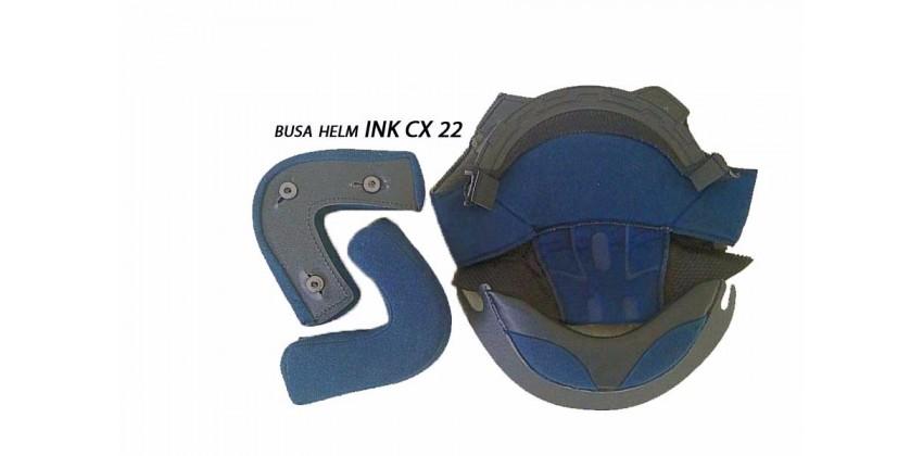 CX 22 Aksesoris Helm Crown Pad  Hitam 0