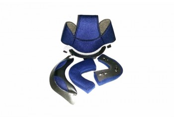 CX 800 Aksesoris Helm Crown Pad  Biru