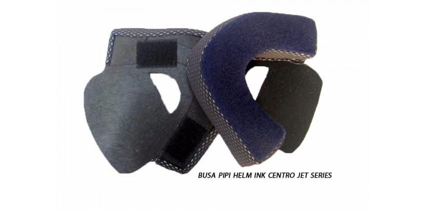 Centro Jet Series Aksesoris Helm Cheek Pad  Hitam 0