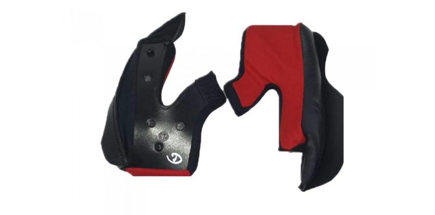 Cross Series Aksesoris Helm Cheek Pad  Merah 0