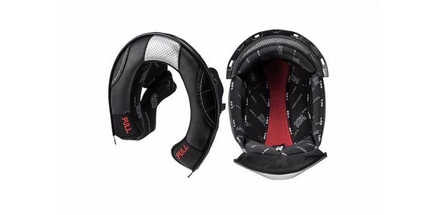 FF323 Arrow Series Aksesoris Helm Crown Pad  Hitam 0