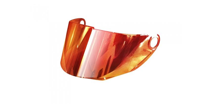 FFS-1 Aksesoris Helm Visor Flat Merah Iridium 0