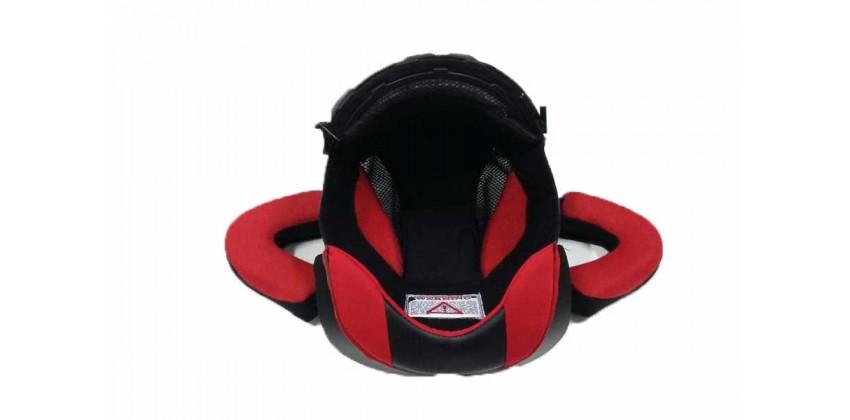 GM Impreza Aksesoris Helm Crown Pad  Merah 0