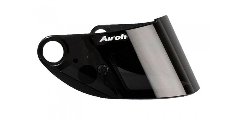 Airoh GP 500 Aksesoris Helm Visor Flat Hitam Smoke 0