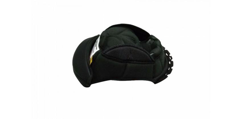 K2 Rider Crown Pad Hitam Dalaman busa helm 0