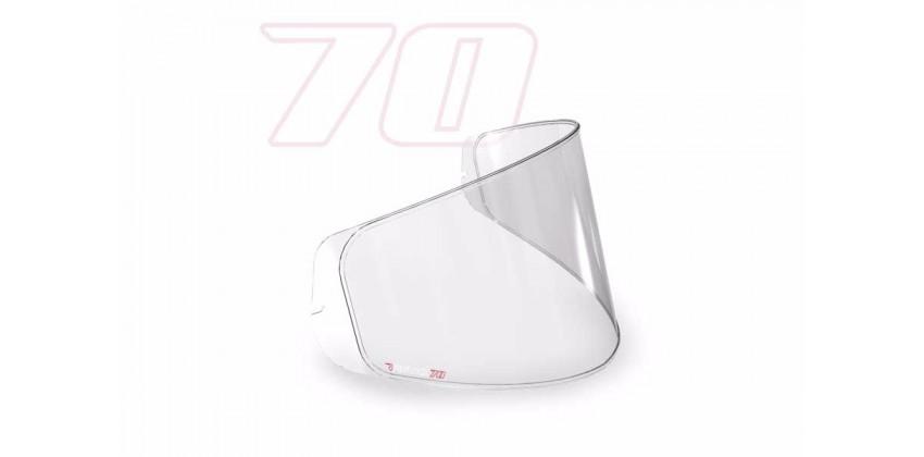 K3SV Aksesoris Helm Pinlock  Transparant 70 0