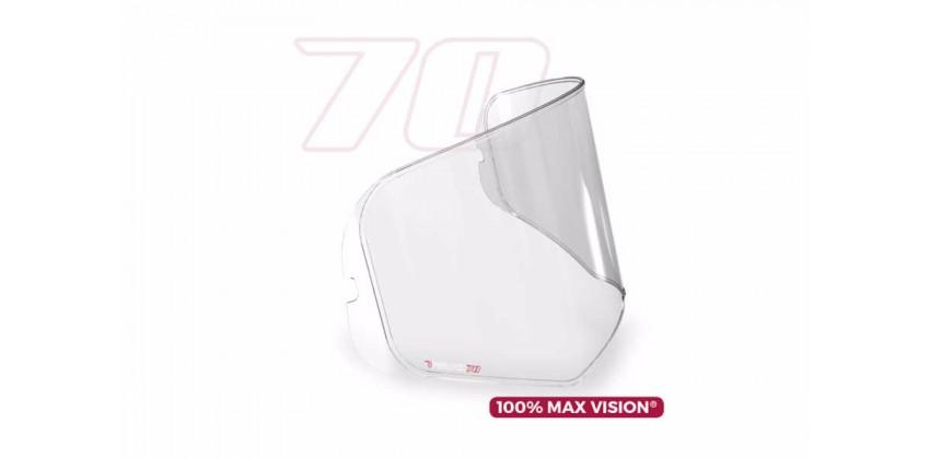 Max Vision - FF324 / Metro Aksesoris Helm Pinlock  Transparant 70 0