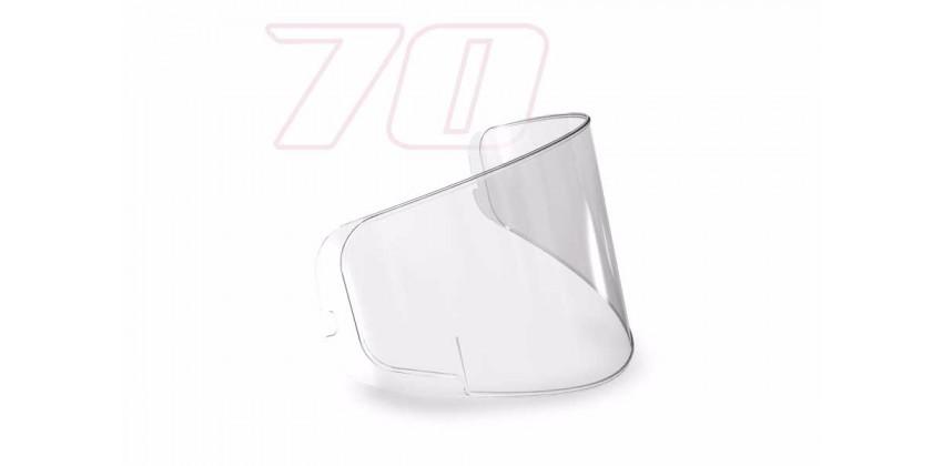 N43 / X402 / J2 Pro Aksesoris Helm Pinlock  Transparant 70 0