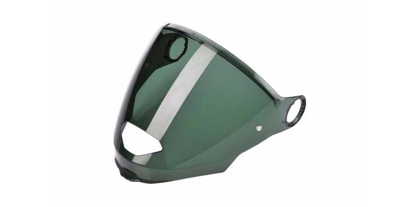 N44 Aksesoris Helm Visor  Hijau Dark Green 0