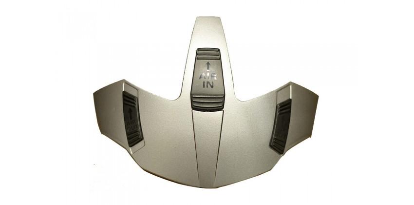 N44 Aksesoris Helm Top Vent  Silver 0