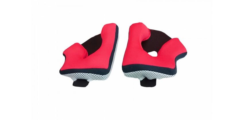 N64 Aksesoris Helm Cheek Pad  Merah 0