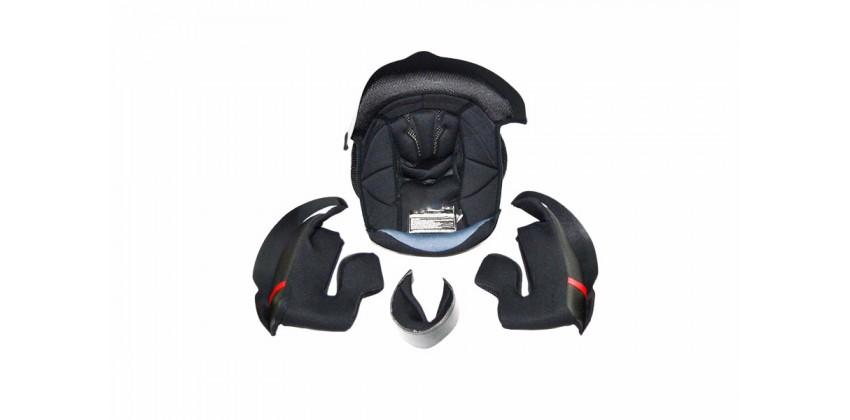 NF300 Aksesoris Helm Crown Pad  Hitam 0
