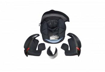 NF300 Aksesoris Helm Crown Pad  Hitam