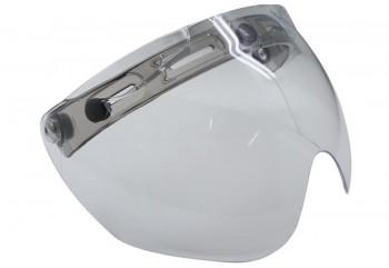 Cargloss R3 Cf Retro Clear Aksesoris Helm Visor Abu-abu