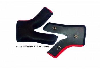 KYT RC Seven Aksesoris Helm Cheek Pad Merah