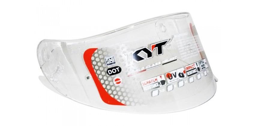 RC Seven Flat Aksesoris Helm Visor Flat Clear 0