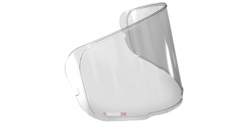 RPHA10 Antifog Aksesoris Helm Pinlock Flat Clear 0
