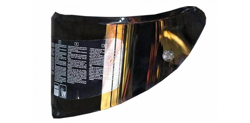 Race 3 Aksesoris Helm Visor  Gold Iridium 0