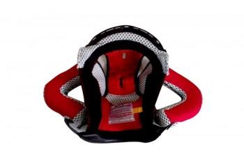 KYT Romeo Aksesoris Helm Crown Pad Hitam Busa + Visor