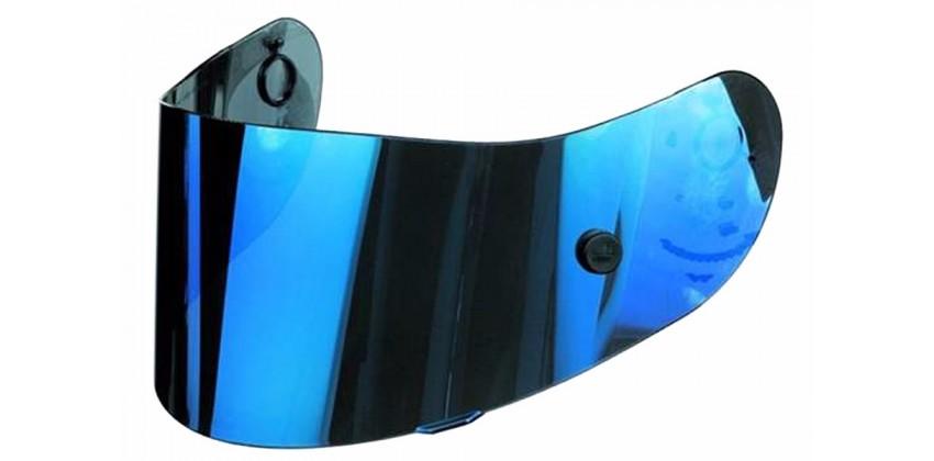 X14 / Z-7 Iridium Blue Aksesoris Helm Flat  Biru 0