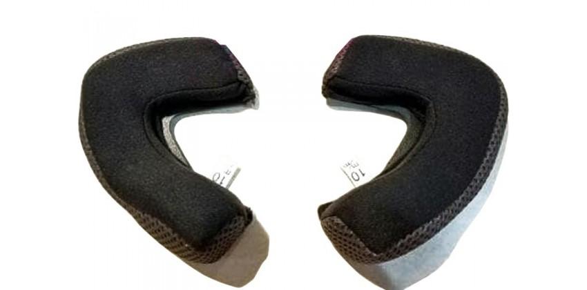 Z-610 Aksesoris Helm Cheek Pad  Hitam 0