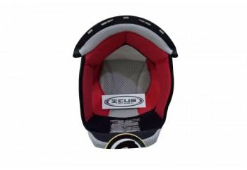 Zeus Z-806 Aksesoris Helm Crown Pad Merah
