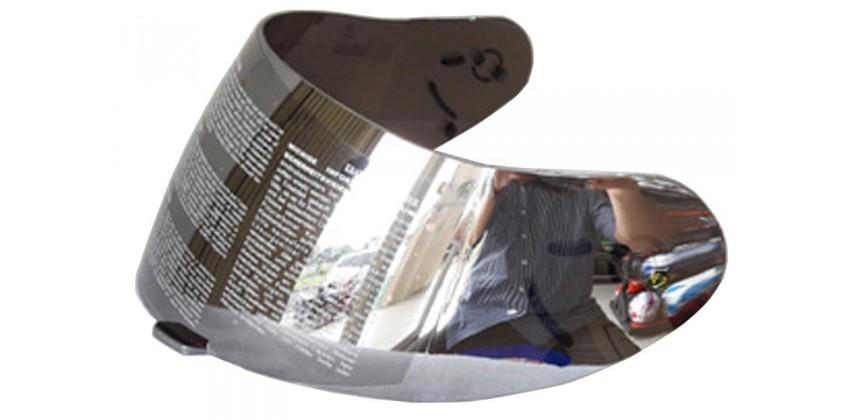 ZS-806 Aksesoris Helm Visor Non Flat Silver Iridium 0