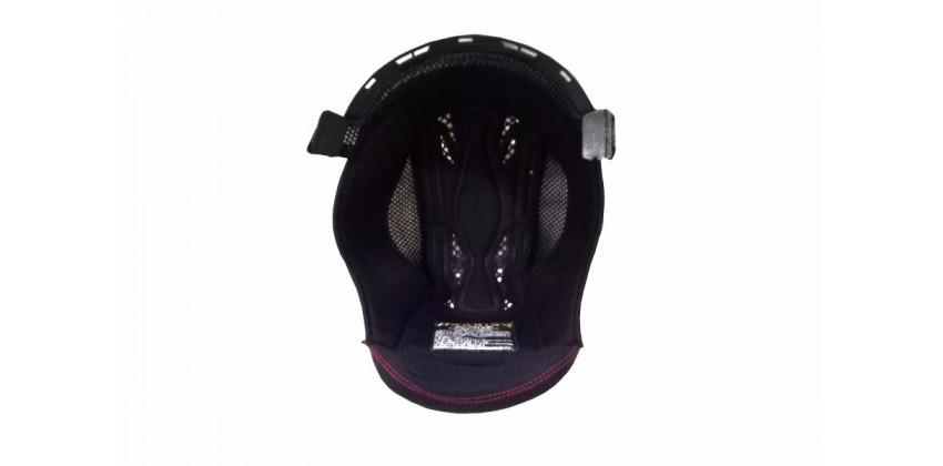 ZS-811 Aksesoris Helm Crown Pad  Hitam 0