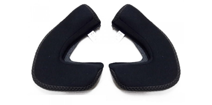 ZS - 610 Aksesoris Helm Cheek Pad  Hitam 0