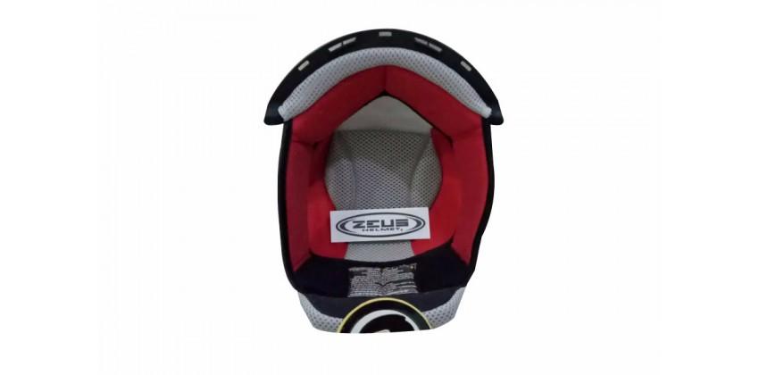Aksesoris Helm  Crown Pad Merah 0