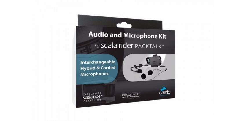 Scala Rider PackTalk / SmartPack Audio Kit Gadget Audio Kit 0
