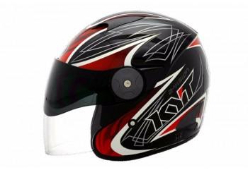 KYT 2 Vision #7  Helm Half-face