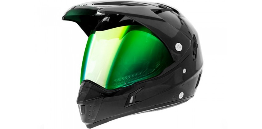 311 Full-face Iridium Green Visor 0