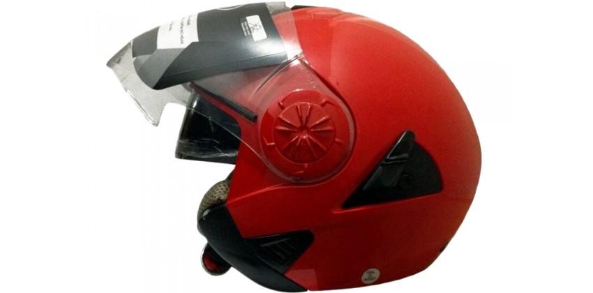 622 Half-face Red 0