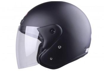 ANDES AS-506 Matte Black  Helm Half-face