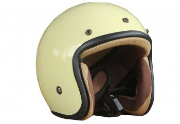 Sada Helmet Basic-Cream  Helm Half-face