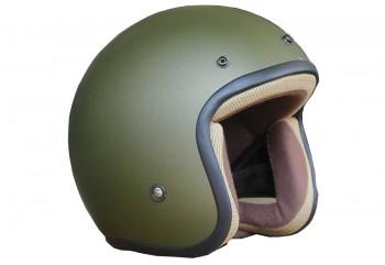Basic-Hijau Army Half-face