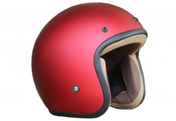 Basic-Merah Doff Half-face