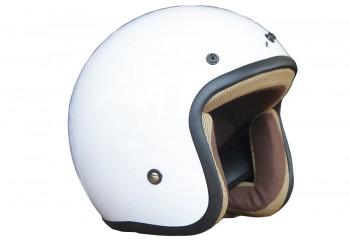 Basic-Putih Half-face