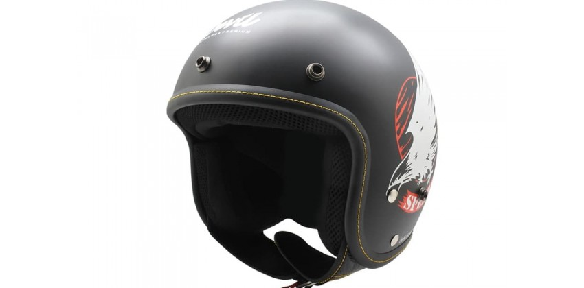 CFL Speed Junkies Deep Black SG Half-face 0