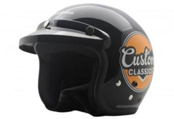 CF Retro Helm Half-face