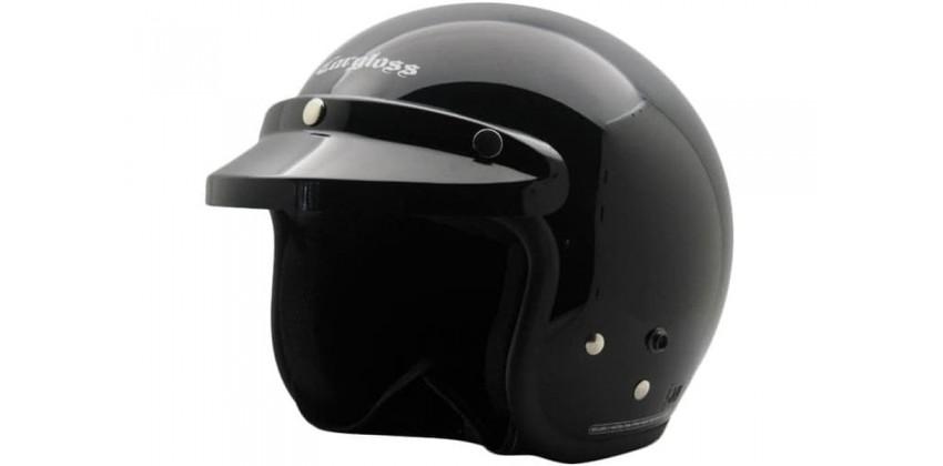 Cargloss CF Retro Army Deep Black  Helm Half-face 0