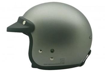 CARGLOSS CF Retro Army Silver Mett 8 Doff Half-face