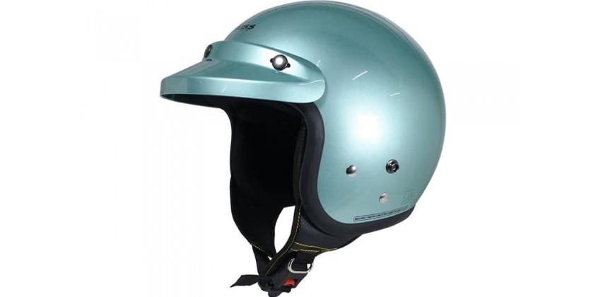 Cargloss CF Retro z Green  Helm Half-face 0
