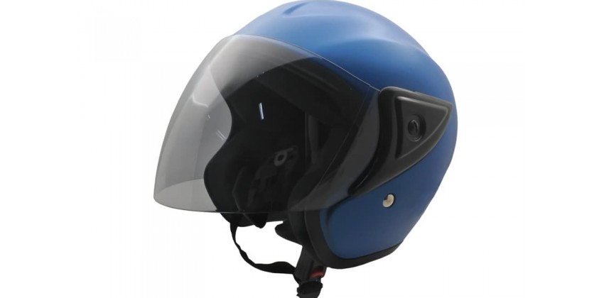 Cargloss CM Blue Doff  Helm Half-face 0