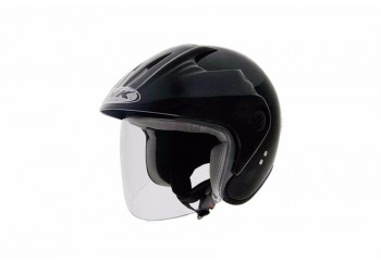INK CX 390 Helm Half Face Hitam