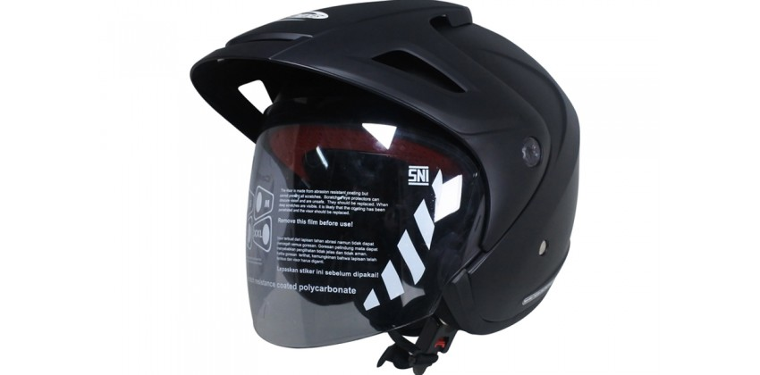 Cargloss CX Deep Black SG Doff  Helm Half-face 0